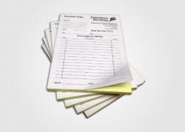 NCR Duplicate Pads Design Print Weston-super-Mare Bristol