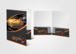 Design & Print Presentation Folders in Weston-super-Mare & Bristol